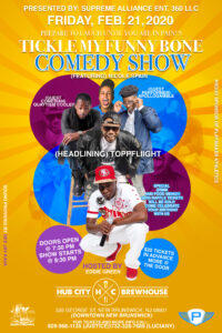 Tickle My Funny Bone Comedy Show @ Hub City Brewhouse