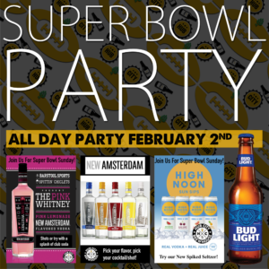 Super Bowl Party @ Hub City Brewhouse